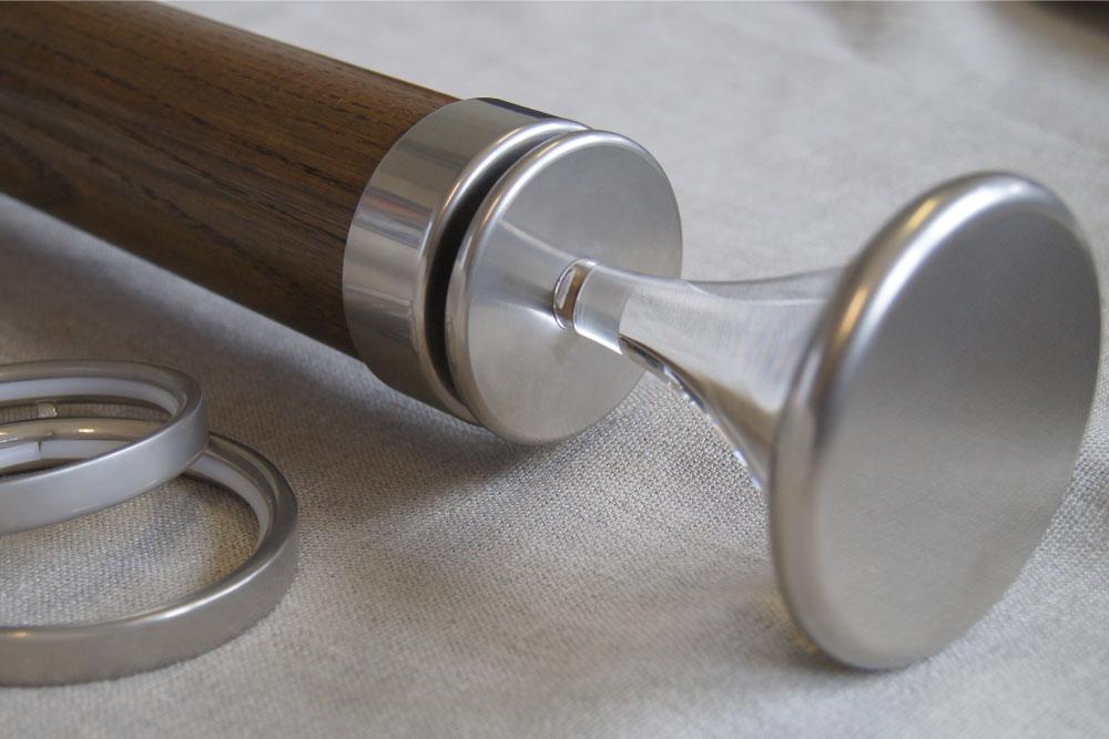 Natural Wood Curtain Poles Finials Amp Accessories 65mm