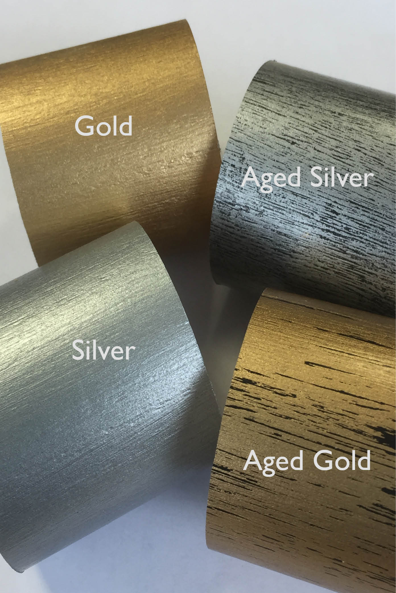 new wood finishes labled
